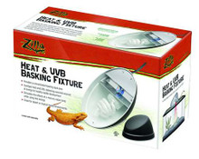 Zilla Fixture Halogen/UVB Combo Heat Lamp for Aquarium