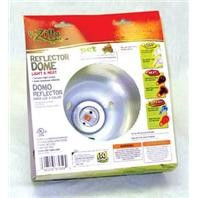 Zilla Reflector Dome Light & Heat 5.5in