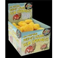 Zoo Med All Natural Hermit Crab Sea Sponges 36pc