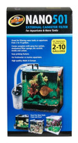 Zoo Med NANO 501 External Canister Filter 2-10gal