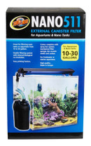 Zoo Med NANO 511 External Canister Filter 10-30gal
