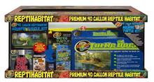 Zoo Med ReptiHabitat Aquatic Turtle Kit 40 Gallon
