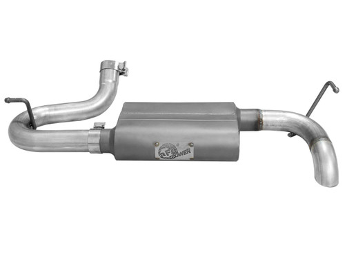 "aFe POWER 49-08046 Scorpion 2-1/2"" Aluminized Steel Axle-Back Exhaust System"