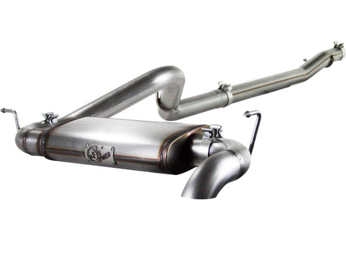 "aFe POWER 49-46221 MACH Force-Xp 3"" 409 Stainless Steel Cat-Back Exhaust System"