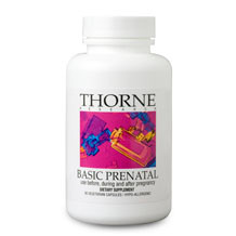 Thorne Research Basic Prenatal