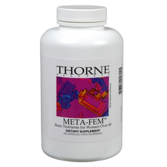 Thorne Research Meta-Fem 240 Veggie Caps