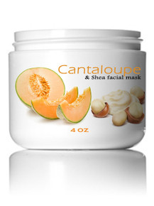 Cantaloupe & Shea Facial Mask 4 oz