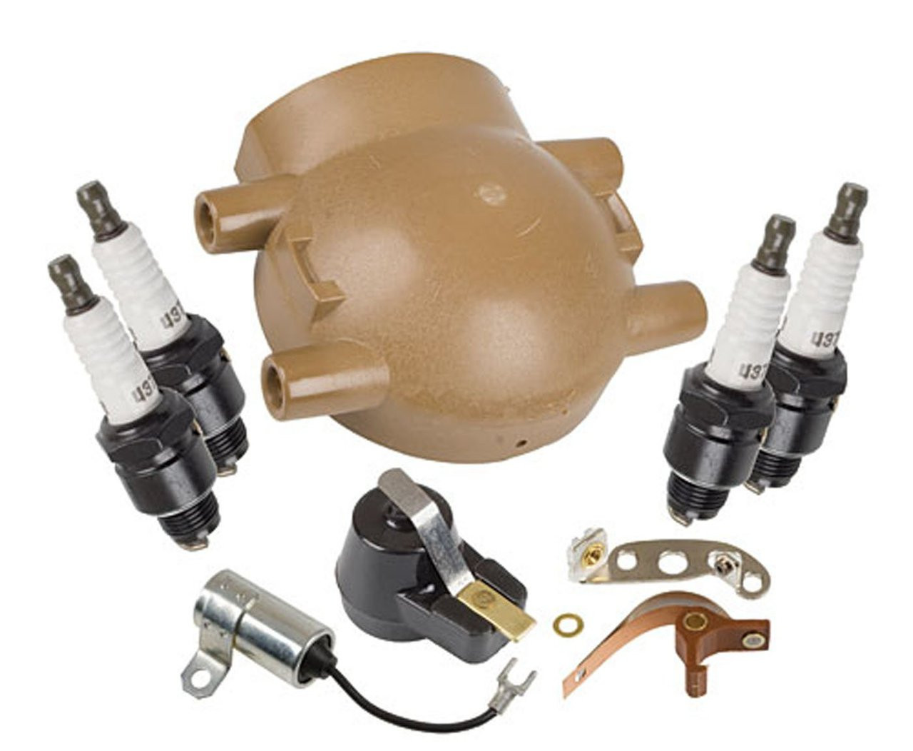 Ford Tractor 8N 9N 2N Tune Up Kit with Cap for Front Mount ...