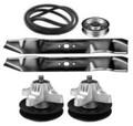 """Troy-Bilt/MTD 42"""" Deck Rebuild Kit With Belt, Blades, Idlers & Spindles"""