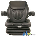 Grammer Universal Black Vinyl Tractor Seat MSG75GBLV-ASSY