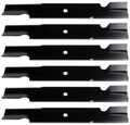 "Bobcat or Ferris Mower Blade Set of 6 1520842, 42180B, WM142180B 61"" Cut"