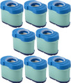 Briggs & Stratton 8 Pack 792105 Extended Life Series Air Filter Cartridges