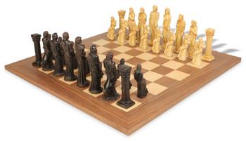 Gods of Mythology Theme Chess Set Deluxe