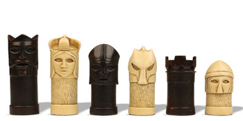 Masked Hand Decorated Chess Set by Studio Anne Carlton