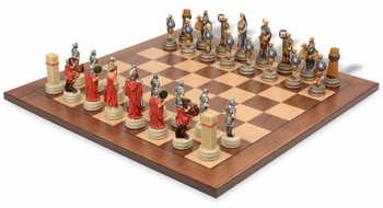 Romans and Arabia Theme Chess Set Package
