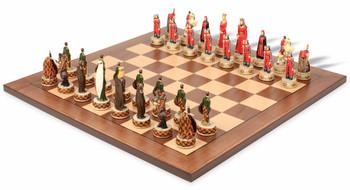 English and Scottish Theme Chess Set Package