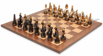 Egyptian II Theme Chess Set Package