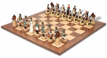 Napoleon vs Russia Theme Chess Set