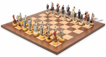Civil War II Theme Chess Set Package
