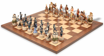 Japanese Samurai II Theme Chess Set Packages