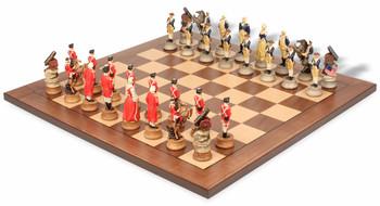 American Revolutionary War II Theme Chess Set Package