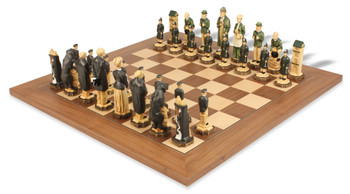 Sherlock Holmes Hand Decorated Theme Chess Set Deluxe Package