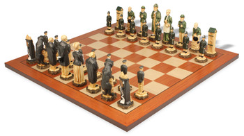 Sherlock Holmes Hand Decorated Theme Chess Set Standard Package