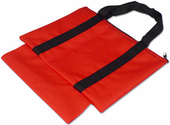 Chess Piece Sleeve Bag - Red
