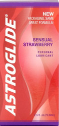 Astroglide Sensual Strawberry Personal Lubricants