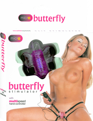 Micro Butterfly Stimulator (Lavender)