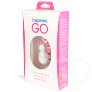Sqweel Go Rechargeable Oral Sex Simulator Pink
