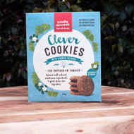 Totally Devoted Clever Cookies are not only a healthy snack, but also contains a range of special ingredients that are known to enhance memory increase blood flow to your brain.
