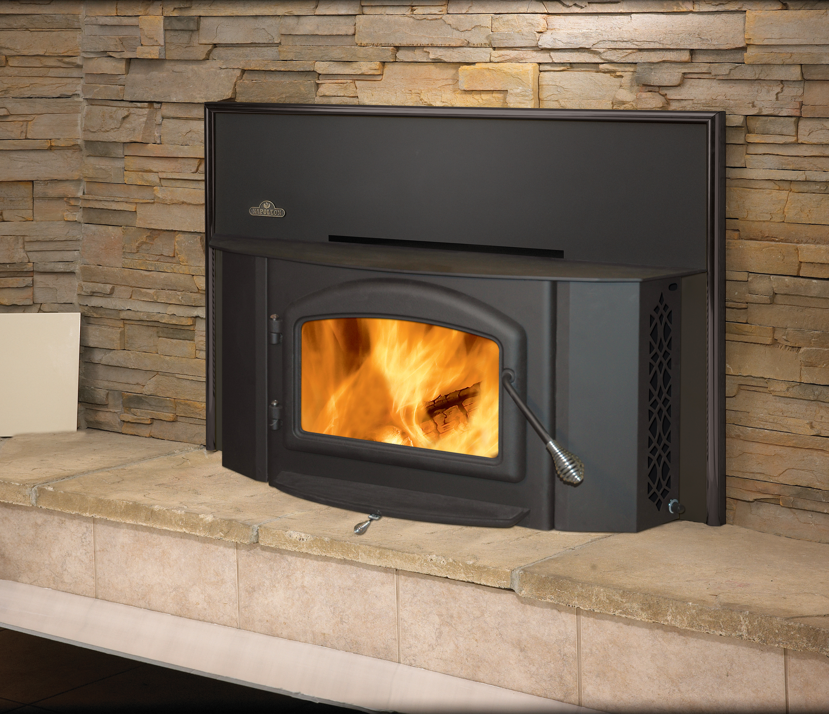 Napoleon 1402 Oakdale Wood Burning Fireplace Insert Embers Fireplaces Outdoor Living
