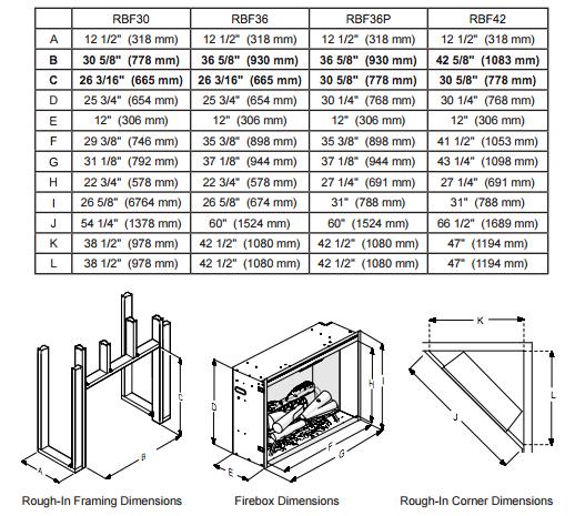 dimplex-rbf30-framing-specs.png