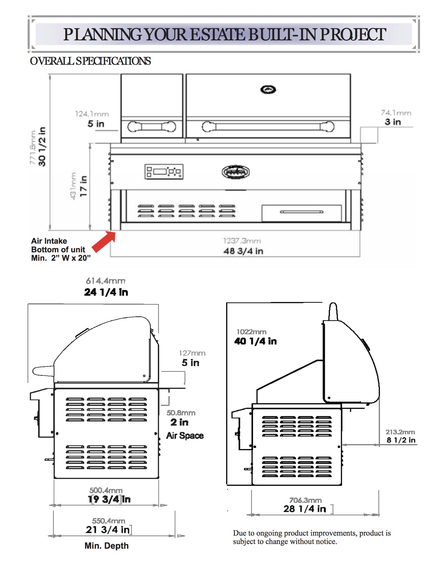 cut sheet estate 860BI