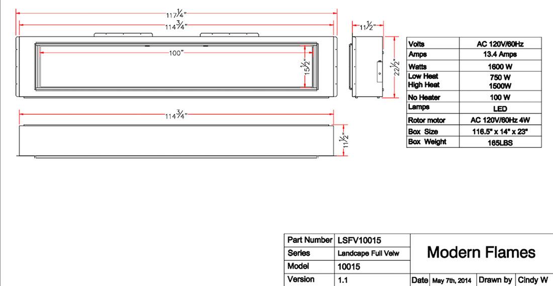 LFV100 Specs