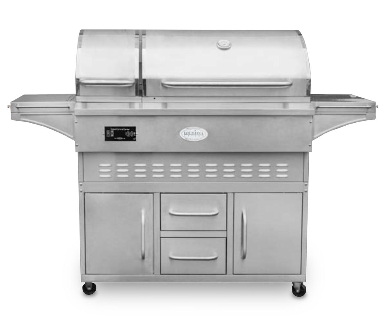 860c Estate Series Louisiana Grill Cart Model Pellet