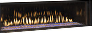 Montigo 63 inch Linear Direct Vent Gas Fireplace - D6315