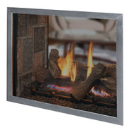 "Astria Montebello ST 40"" Direct Vent Gas Fireplace See-Thru"