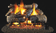 Realfyre Charred American Oak with G4 (Glowing Ember) Burner Vented Gas Logs
