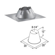 6'' DuraTech Flat Roof Flashing  6DT-FF