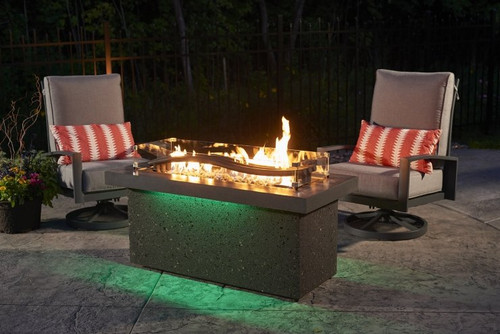 Outdoor Greatroom Boreal Complete Heat Linear Fire Pit - Outdoor Greatroom Boreal Complete Heat Linear Fire Pit - Embers