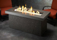 Outdoor Greatroom Key Largo Linear Gas Fire Pit Table