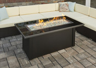 Outdoor Greatroom Monte Carlo Linear Gas Fire Pit Table
