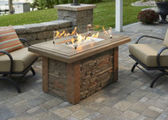 Outdoor Greatroom Sierra Linear Gas Fire Pit Table