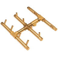 CROSSFIRE™ CFBST120 Square Tree-Style Brass Burner