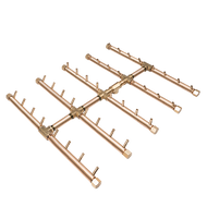 CROSSFIRE™ CFBST400 Square Tree-Style Brass Burner