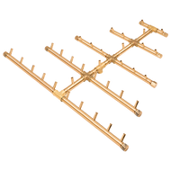 CROSSFIRE™ CFBTRI330 Triangular Brass Burner