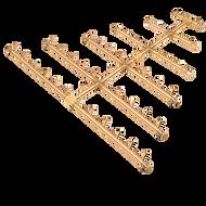 CROSSFIRE™ CFBTRI470 Triangular Brass Burner