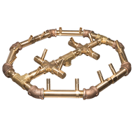 CROSSFIRE™ CFBO180 Octagonal Brass Burner